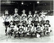 Ray Wilkins & England Team Squad Signed 8x12 Signed Photograph AFTAL/UACC RD