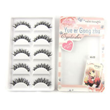 YEGZ EHW50 Natural Thick Cross False eyelashes fake eye lashes makeup cosmetic