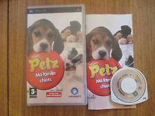 Petz Ma Famille Chiots ~~ Jeu PSP Complet
