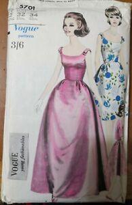 VOGUE ONE-PIECE DRESS, JACKET & PETTICOAT (1960's)