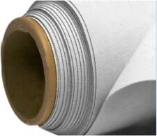 """SILVER Thermal Blackout Curtain Lining FABRIC 3 PASS Quality 54"""" Width Per Meter"""