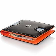 Kronenschein® Geldbörse Herren klein mit Geldklammer RFID Schwarz Geldbeutel