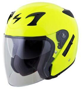 Scorpion EXO-CT220 Helmet Open Face 3/4 Inner Sun Shield DOT Approved XS-3XL