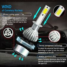 2PC H1 200W 20000LM LED Headlight Conversion Kit Bulb 6000K White Front Light !