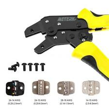 Insulated Cable Connector Terminal Ratchet Crimping Tool Wire Crimper Plier