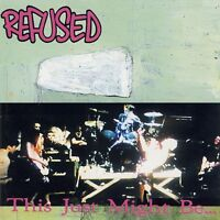 REFUSED - THIS JUST MIGHT BE THE TRUTH   VINYL LP NEW!