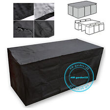 4 6 Seater Waterproof Outside Garden Patio Rain Cover For Rattan Cube  Furniture Part 88