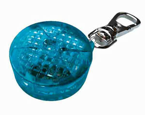 Trixie Flashing Blue Tag Light for Dogs Collar Dog Night Walking Flasher