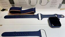 Apple Watch Series 6 GPS 44mm Case Aluminium Blue 10 Months Old UK