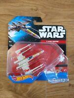 Star Wars Hot Wheels X-Wing Fighter Red 5 Mattel BNIB 2015 - Free P&P