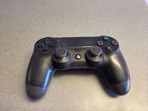 Sony CUH-ZCT1U Dual Shock 4 Black Plastic Wireless Controller For Playstation 4