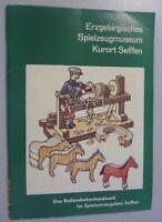 Erzgebirge Spiezeugmuseum Kurort Seiffen-Reifendreher-Handwerk erzgeb. Volkskuns