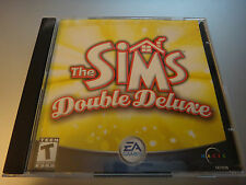 2 CD THE SIMS DOUBLE DELUXE BONUS House Party expansion pack CD PC 2002-3 TEEN
