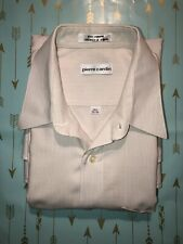 Pierre Cardin Long Sleeve Casual/Formal Shirt, 16 1/2 (32/33) Large, Pre-Owned
