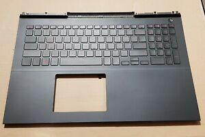 Dell Inspiron 7566 7567 GAMER PALMREST Tastatur englich US BackLight 00KN55 TOP