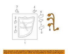 HONDA OEM Ridgeline Taillight Tail Light Lamp Rear-Socket & Wire 33502SJCA01