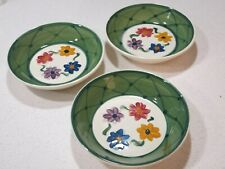 GAIL PITTMAN DAISY CHAIN LOT OF (3) CEREAL SOUP BOWLS