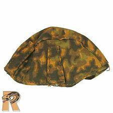 SC1004 - German Oak Camo Helmet Cover - 1/6 Scale Soldier Country Action Figures