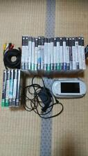SONY  PSP body software set white from jAPAN