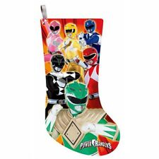Power Rangers NEW * Printed Stocking * Christmas Holiday 19-Inch Licensed