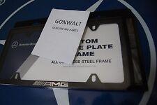 Mercedes Benz Genuine Black AMG Slimline Frame Plate 6880138