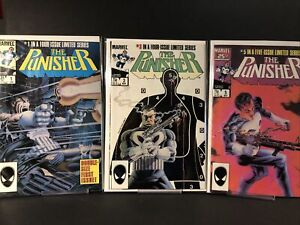 Punisher # 1,3,5 Limited Series ~8.5-9.2~ (RC)