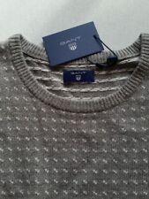 GANT Pullover Herren grey melange  Gr.2XL/XL***NEU