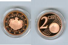 Monaco  2 Cent 2006 PP  Nur 11.180 Stück!