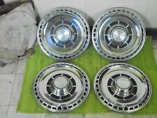 """NOS 1969 Chevrolet Hub Caps 14"""" Set of 4 Chevy Wheel Covers 69 Hubcaps"""
