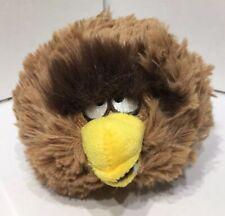 "ANGRY BIRDS Star Wars CHEWBACCA  Brown Plush 5"" Small  Stuffed Animal Ball Toy"