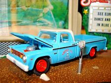1967 67 DODGE D-200 LONG BOX PICKUP LIMITED EDITION 1/64 GL ABUSED WORK TRUCK