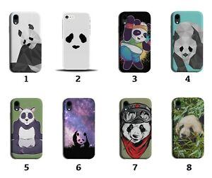 Panda Phone Case Cover Bear Bears Funny Eyes Giant Pandas Cartoon Picture 8051G