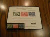 1920 Pilgrim Tercentenary 548 549 550 framed & Souvenir Mayflower Descendant