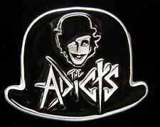 THE ADICTS PUNK ROCK BELT BUCKLE LICENSED NEW!