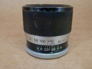 Leitz Leica ZOOAN / 16495 BLACK & CHROME Short Focus Mount for 135mm Hektor Lens