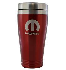 Mopar Red Stainless Travel Mug