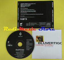 CD Singolo BLUVERTIGO Canone inverso  luxury 1999  MORGAN no lp mc dvd (S12)