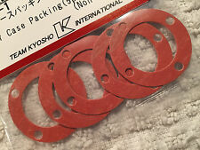 KYOSHO INFERNO MP9 TKI4, TKI3, NEW GENUINE FRONT/REAR DIFF GASKETS x 5, IF30-1