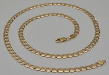 10k Solid Yellow Gold Cuban Curb Link Chain Necklace 25 Inches 24.4 Gr 5.8 mm