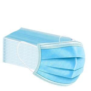 50er Pack Blaue Behelfsmaske Mundschutz Maske Gesichtsmaske