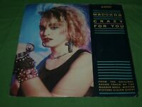 1985 Madonna Crazy for You / Sammy Hagar I'll Fall in Love Again Picture Sleeve