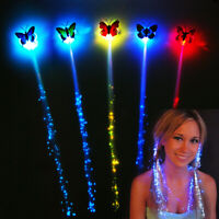 LED Flashing Hair Braid Glowing Luminescent Hairpin Novetly Hair Ornament G N_N