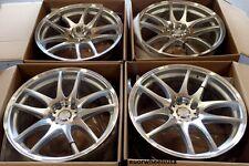 """18"""" ESR SR08 Machined Wheels 18X8.5 5x120 +30 For Pontiac GTO (Rims Set 4)"""
