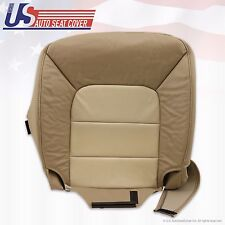 03 - 06 Ford Expedition Eddie Bauer Driver Bottom Leather Seat Cover 2Tone -Tan-