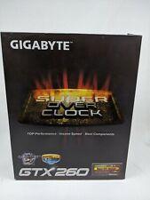 Invidia Gigabyte SUPER OverClock GTX260 IN BOX WITH ALL SOFTWARE
