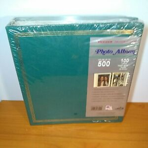 """NEW!  PIONEER DELUXE COVER PHOTO ALBUM 100 Fast Stik HOLDS UP 500 5"""" X 7"""""""