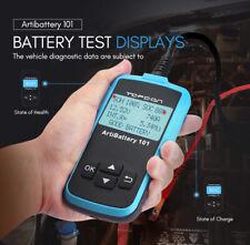 Vehicle Battery Tester Battery Analyzer Automotive Charging Cranking Test 12V US