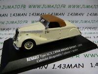 RE9E 1/43 M6 Universal Hobbies / norev  RENAULT Viva grand sport ACX 2 1935