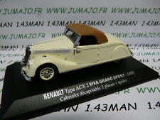 Re20e coche 1/43 M6 Universal hobbies carro Renault tipo a 1899