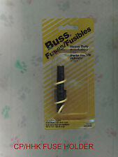 "NEW CP/HHK FUSE HOLDER   20 AMP 250 VOLT 1/4"" x 1 1/4"" FUSES"